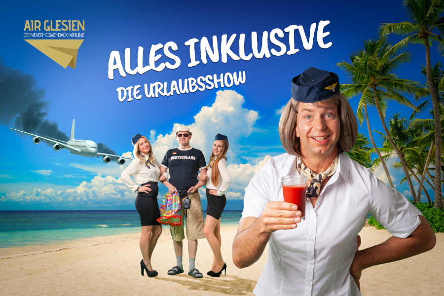 Comedy-Urlaubs-Dinnershow